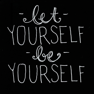 let-yourself-be-yourself